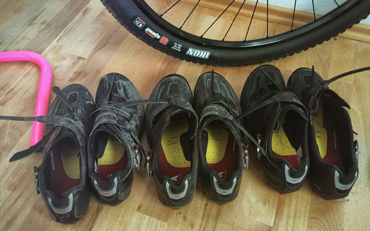 Ready for Racing. Drei Generationen Shimano XC70B (2014/2015/2016)